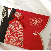 Chinese Wedding Gift For Groom : chinese design bride and groom wedding invitation cards wholesales of ...