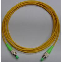Quality FC APC Fiber Optic Patch Cord with LSZH cable for sale