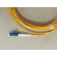 Buy cheap LC/UPC connectors Simplex SM Fiber Optic Patch Cord/pigtail from wholesalers