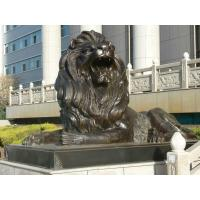 Wholesale Large Outdoor sitting lions bronze sculpture ,customized bronze statues, China sculpture supplier from china suppliers