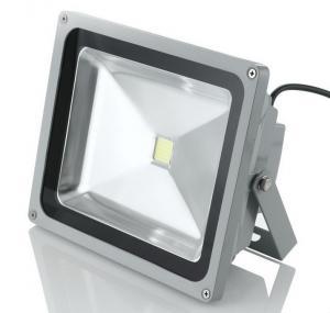 50W COB LED Flood Light Outdoor , IP65 Floodlight 120 Degree Beam Angle