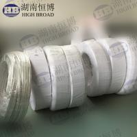 Extruded magnesium ribbon anode for protect high resistivity electrolyte tanks