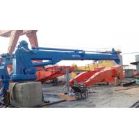 Wholesale 7T Marine Boat Hydraulic Telescopic Knuckle Boom Deck Crane High Speed from china suppliers