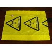 Wholesale Polyethylene Plastic Heat  Sealing Biohazard Bags meet FDA and EU standard from china suppliers