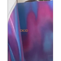 Wholesale OK3D supplier soft tpu material flip lenticular printing 3d lenticular fabrics/textiles/clothing from china suppliers