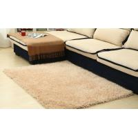 Wholesale Modern Plain 100% Polyester Shag Rug For Bedroom / Meeting Room from china suppliers