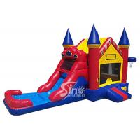 Wholesale Outdoor ancient castle inflatable water bounce house with pool for kids summer partiesOutdoor ancient castle inflatable from china suppliers