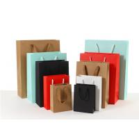 Wholesale Durable Coloured Paper Carrier Bags Matt / Glossy Lamination Surface Handling from china suppliers