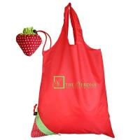 Wholesale Red 190T custom reusable Non-Woven Shopping bag with Silk creen Printing logo from china suppliers