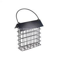 Wholesale Outdoors Cast Iron Bird Feeder , Eco Friendly Metal Hanging Bird Feeder from china suppliers