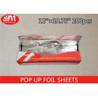 Wholesale Recyclable Pop Up Foil Sheets 12''×10.75''×12 Micron Size Environmental Protection from china suppliers