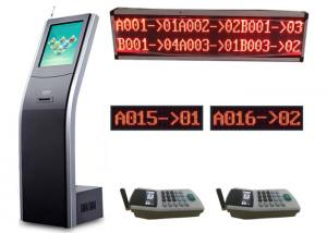 Wholesale Smart User Management Infrared Touch Token Number Machine Bank Queue System from china suppliers