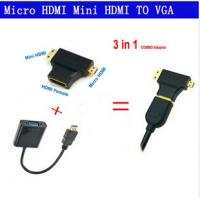 how to connect vga to coaxial cable