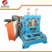 Wholesale Automatic Metal C Purlin Roll Forming Machine With Interchangeable Cutter Device from china suppliers