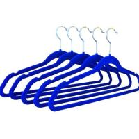 Wholesale Velvet Clothing Hanger, Flocked Coat Hanger (LD-F032) from china suppliers
