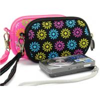 Wholesale Best price neoprene camera case bag with net pocket insided for U disk, data linker from china suppliers