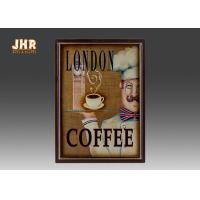 Wholesale Coffee Shop Wall Art Sign Decorative Wood Wall Plaques Antique Home Wall Decor from china suppliers