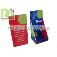 China Cardboard Counter Displays With Hooks Corrugated Point Of Purchase Displays ENCD077 wholesale