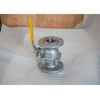 Wholesale 2pc body full port fire safe design 2 inch flanged,ai6d carbon steel ball valve from china suppliers