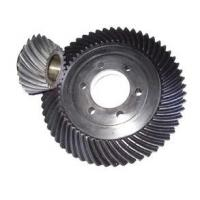 Buy cheap Standard 20crmnti Spiral Bevel Gear With Keyways / Bevel Pinion Gear from wholesalers