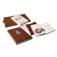Wholesale PU leather magnet cover 4c + 4c House Hardcover Book Printing Service with sewn binding from china suppliers
