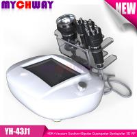 China Professional 40K+Vacuum Suction+Bipolar Quaropolar Sextupolar 3D RF Radio Frequency Slimming on sale