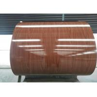Easy cleaning Prepainted Galvalume Steel Coil AZ For Cold Room / Construction