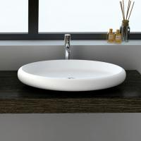 Wholesale Elliptic Counter Top Wash Basin from china suppliers