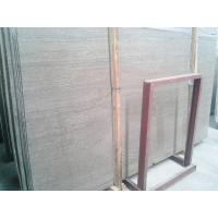 China Chinese coffee wood grain marble,wooden marble tile,grey marble wholesale