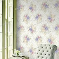 Wholesale Room Decor Non-Woven Wallpaper with Roses Flower from china suppliers