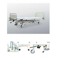China Adjustable Hydraulic Hospital Beds , Mobile Ward Beds For Emergency Care wholesale