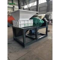 Wholesale Unique Power Scrap Metal Shredder , Metal Recycling Shredder Single Shaft from china suppliers