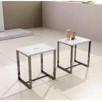 Wholesale Professional  Resin Stone Shower Stool 400*300*430 White Grey Black Optional from china suppliers