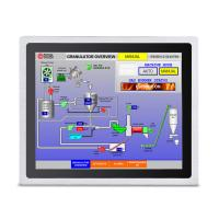 Buy cheap Industrial 17 Inch Embedded Touch Panel PC Front IP65 Waterproof Silver Color from wholesalers