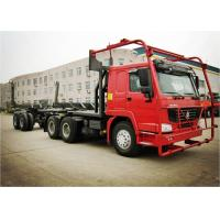 Wholesale Right Hand Driving 6*6 400l Log Carrier Truck Sinotruk Howo Brand With Any Color from china suppliers
