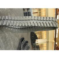 Agriculture Crawler / Excavator Rubber Tracks 46 Link For Yanmar Vio 40