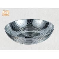 Wholesale Silver Mirror Mosaic Fiberglass Flower Pots Modern Style Indoor Decoration from china suppliers