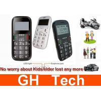 Wholesale Kids / Senior People Phone GPS Tracker Black / White With Real Time Tracking from china suppliers