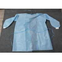 Wholesale Knit Cuff Breathable Disposable Coverall Suit Gown Level 1/2/3 White Blue Yellow from china suppliers