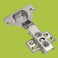 Wholesale kitchen cabinets accessories full-over type hinge with Nickel finish from china suppliers