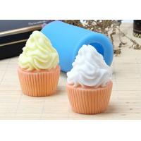 Wholesale FDA Cake Decoration Handmade Silicone Soap Molds Ice Cream Shaped from china suppliers