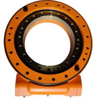 China Worm Gear Slew Ring Drive For Claw Truck , 50Mn Slewing Ring Drive OEM on sale