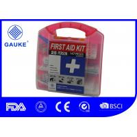Wholesale Square Shape General OSHA ANSI First Aid Kit Fast Aid Box For Adults from china suppliers