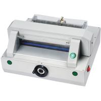 China Compact Automatic Table Top Paper Cutting Machine 320mm Table Depth wholesale
