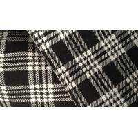 Wholesale Silk Bamboo Fiber Cloth Plaid Jacquard Knit Fabric For Kids Clothes / Baby Wear from china suppliers