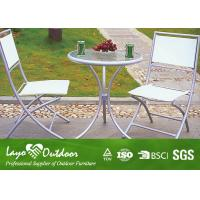China Garden Patio Table And Chairs Patio Outdoor Furniture No Hazardous Gas Radiation wholesale