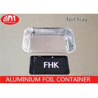 Wholesale FHK Aluminium Foil Container Rectangle Shape 570ml Volume 20.5cm X 12cm X 4cm Size from china suppliers