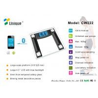 Wholesale CW222B High Accuracy Digital Bathroom Scale with Bluetooth Connection from china suppliers