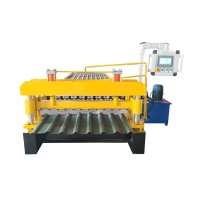 China Galvanized Coil 0.8mm Sheet Metal Roll Forming Machines 20m/Min on sale