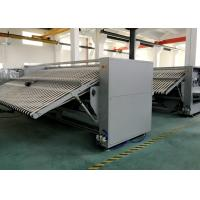 3000mm AutoHotel Linen Bedsheet Folding Machine Large Capacity With  Electric Heating